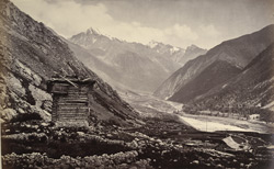 The Buspa Valley from the village of Chitkul.